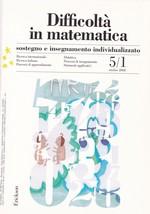 Difficoltà in matematica – sostegno e insegnamento individualizzato 5/1 ottobre 2008 – CTSLI_LIB013D