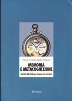 MEMORIA E METACOGNIZIONE – Attività didattiche per imparare a ricordare – CTSLI_LIB053D